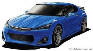 subaru sports car