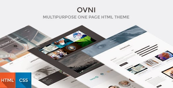 One Page HTML5 Template