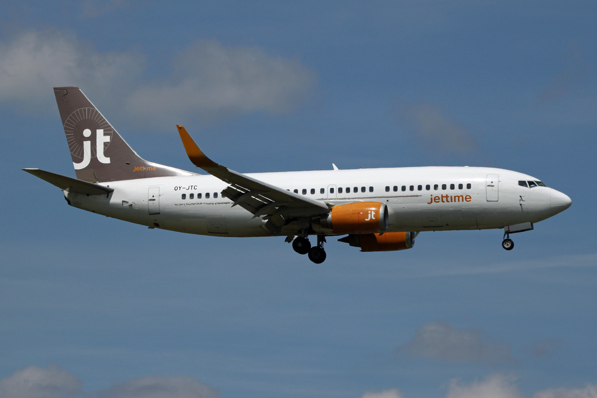 The airline Jet Time (Jet Time) .2