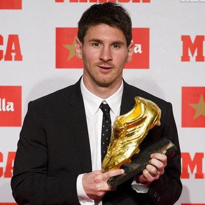 Bota de Oro Leo Messi