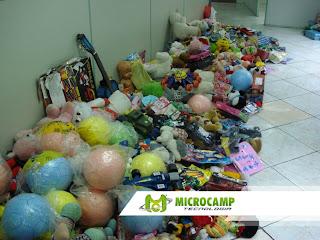 doacoes de brinquedos microcamp