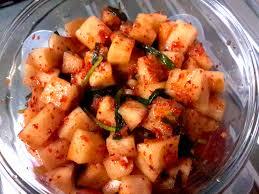 Kkakdugi Kimchi han quoc