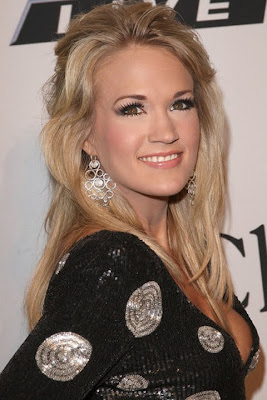 Carrie Underwood Sterling Chandelier Earrings