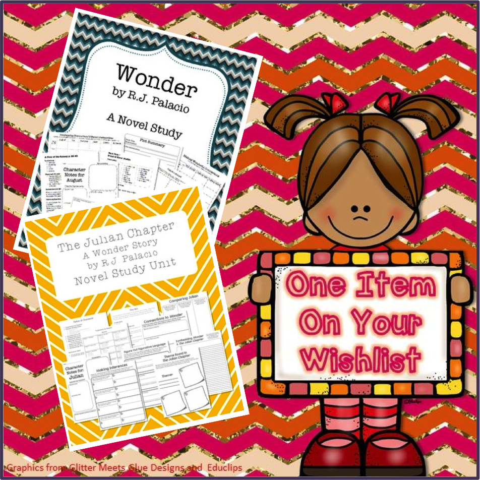 http://www.teacherspayteachers.com/Product/The-Julian-Chapter-A-Wonder-Story-by-RJ-Palacio-Novel-Study-Unit-1322406