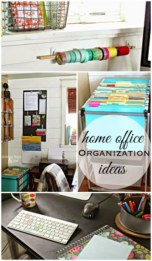 Home office organization ideas-www.goldenboysandme.com