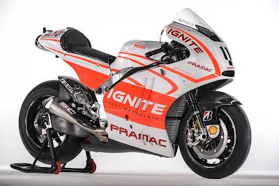 Ben Spies Pramac Ducati Desmosedici GP13 Koleksi Gambar Moto GP Terbaru 2013