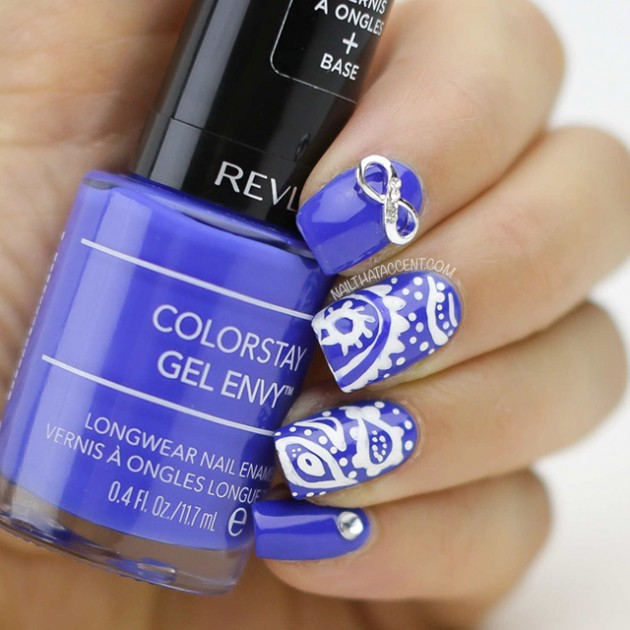 Las 10 mejores decoraciónes de uñas | Moda y Belleza en azul