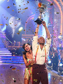 J.R. Martinez is the winner of Dancing with the Stars Finale