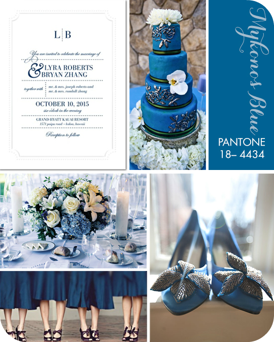Amato Il Tondo e l'Ovale - Event and Wedding: Colore matrimonio: BLU KI13