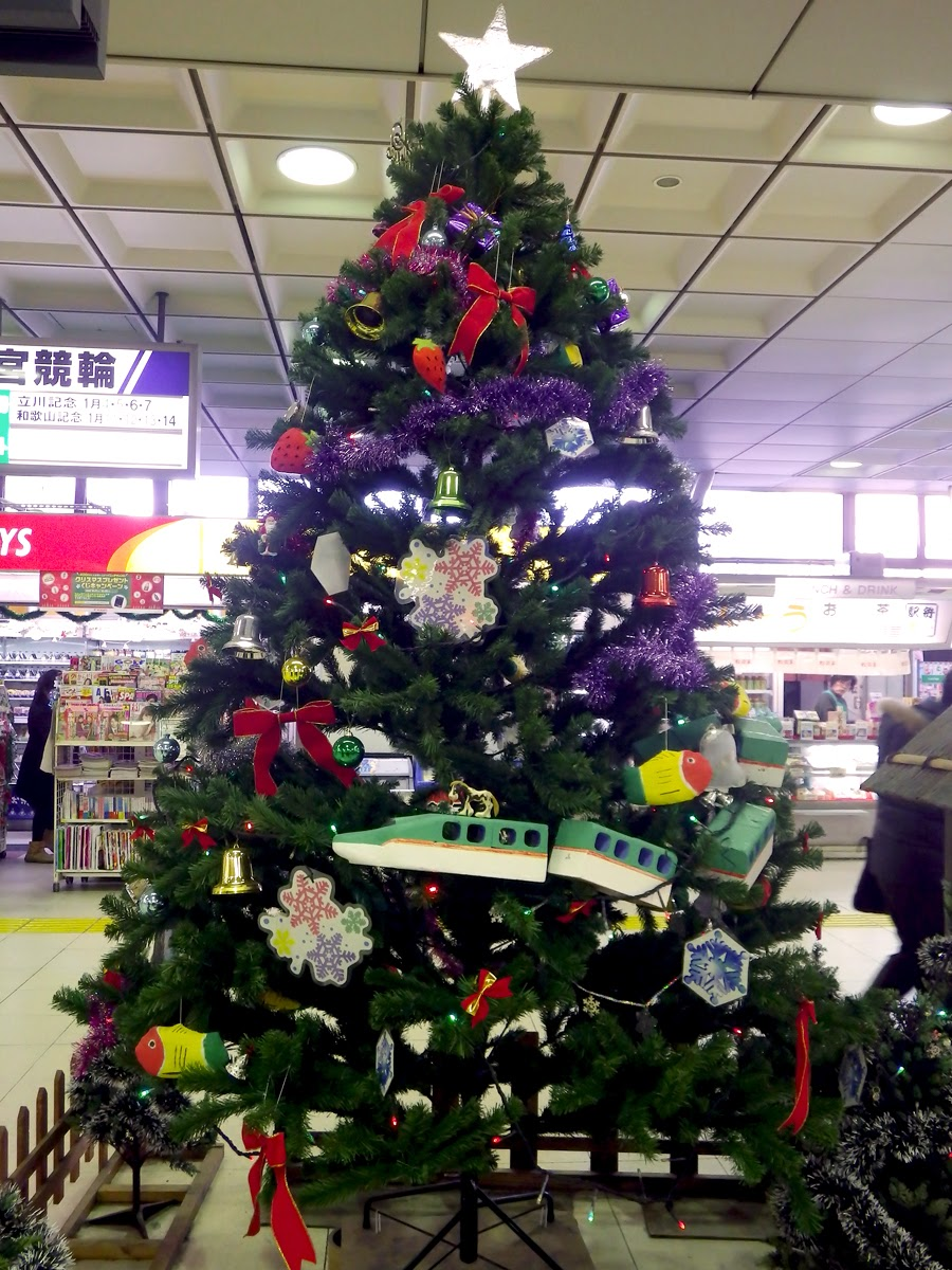 Rick The Traveller Christmas In Japan - Japanese Christmas Tree