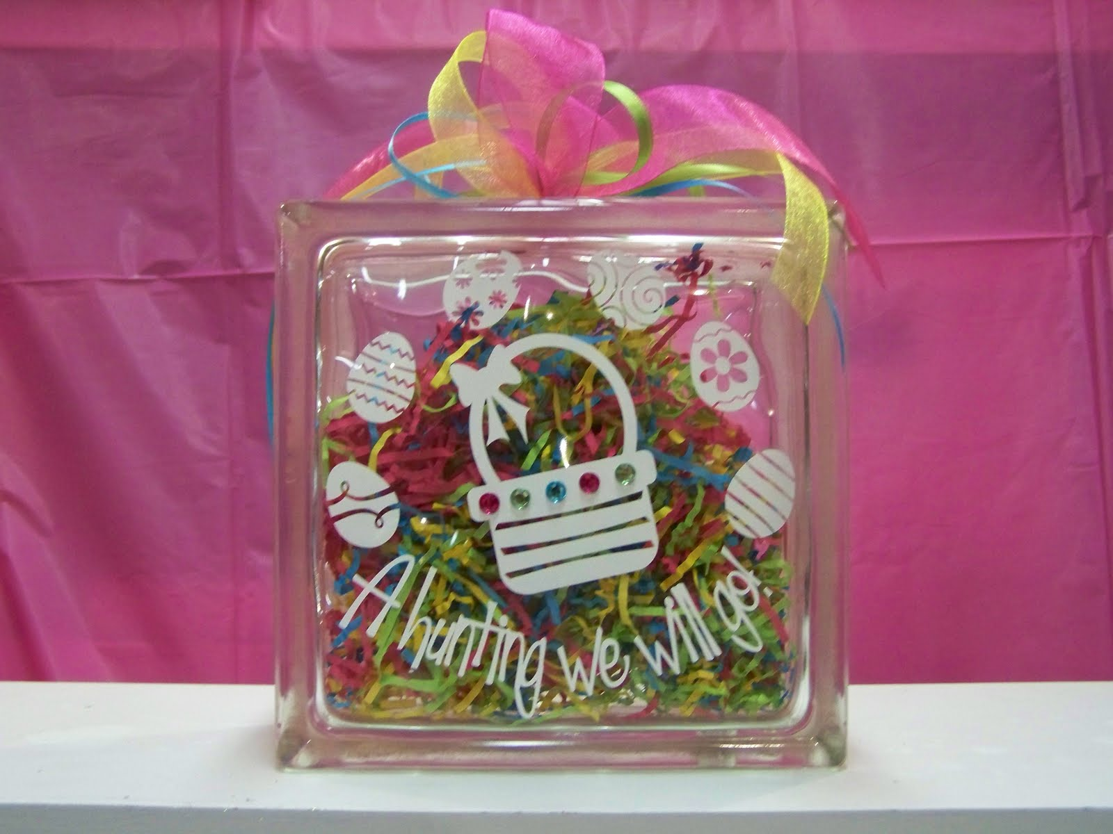 Heartfelt wall hangings glass bock collection for Glass block crafts pictures