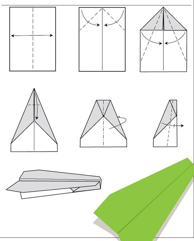 aprender a hacer un avion de papel