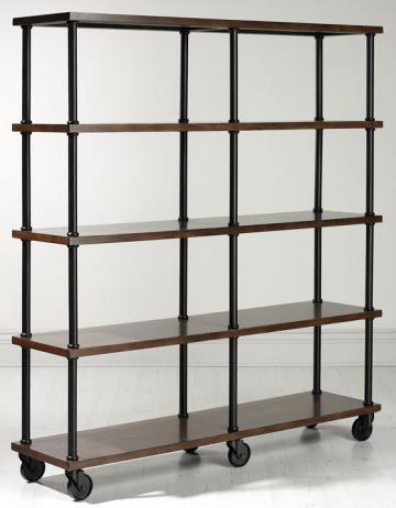 copy cat chic ralph lauren etagere industriel. Black Bedroom Furniture Sets. Home Design Ideas