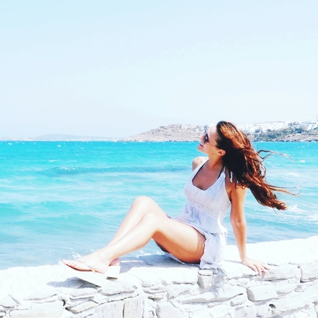 Jelena Zivanovic Instagram @lelazivanovic.Glam fab week.How to fight winter blues.Paros island Greece.Paros ostrvo Grcka.