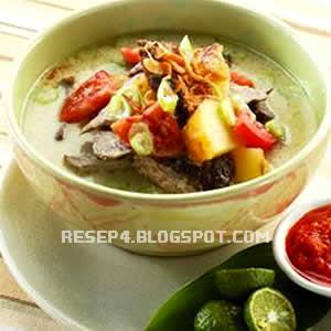 resep soto daging sapi enak   resep masakan 4