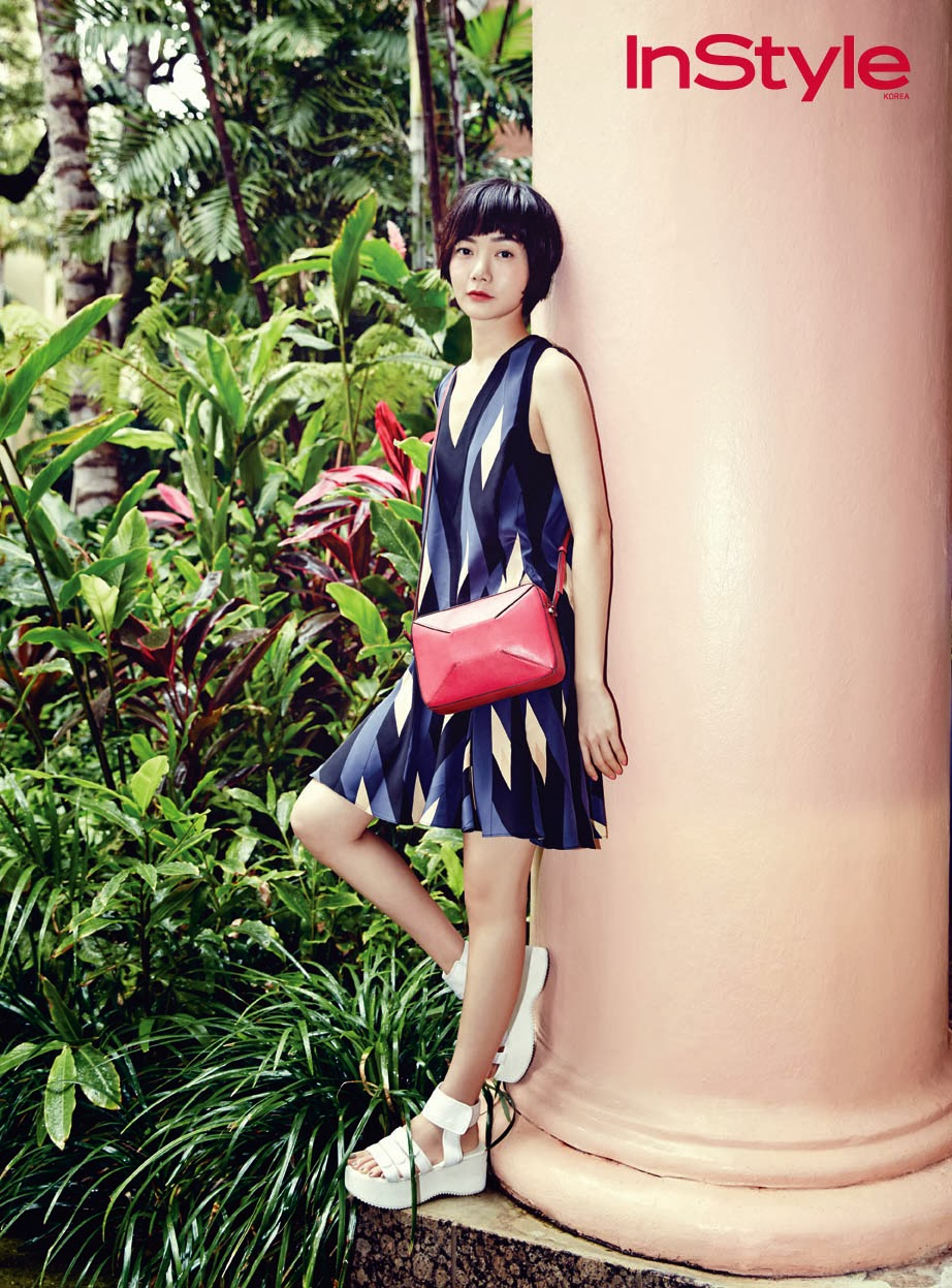 Bae Doo Na - InStyle Magazine March Issue 2014