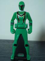 Legend Sentai Ranger Key Set Magiranger Magi Green Bandai Super Sentai Gokaiger