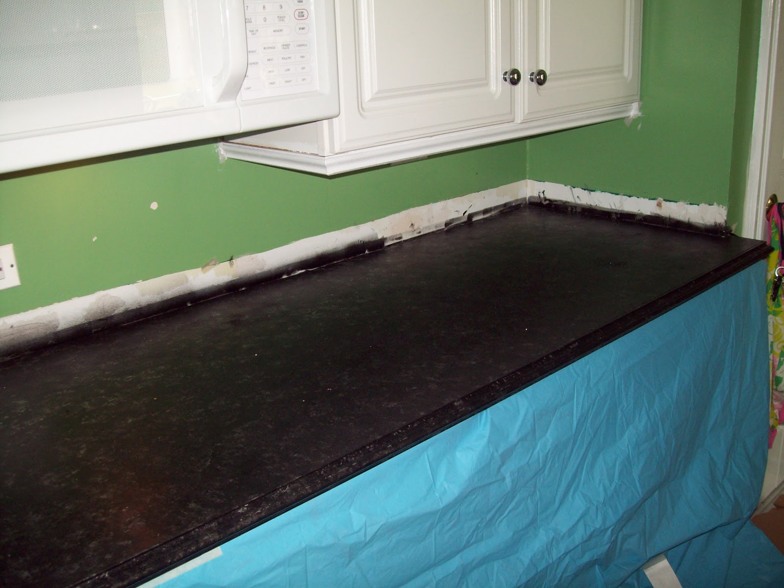 Countertop Formica : Remodelaholic Painted Formica Countertop Review Ebooks