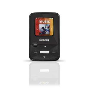 SanDisk Sansa Clip Zip 4GB MP3 Player SDMX22-004G-A57K - Black