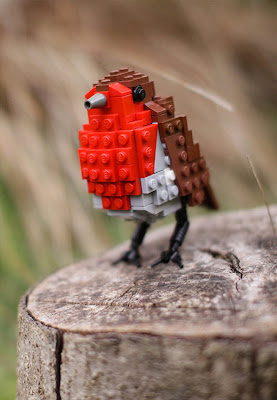 Pájaros de Lego de Tom Poulson por Recicla Inventa