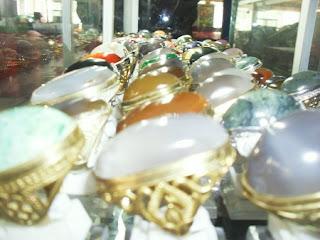 Dekati Lebaran, Pasar Akik Nusantara IBC Semakin Rame