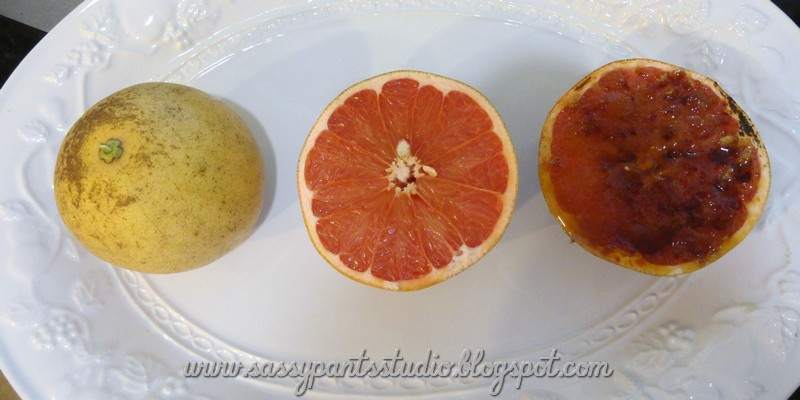 Don't Mess With My Tutus! : Grapefruit Brulee