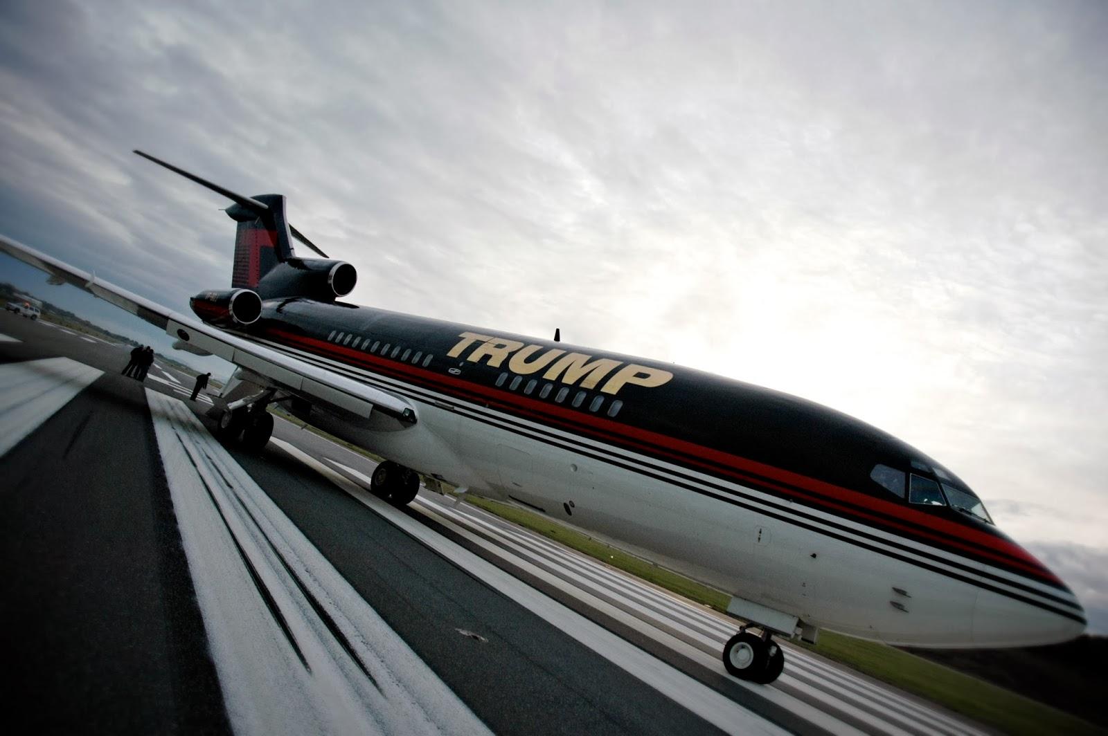 EM VALOR: CONHEÇA O AVIÃO DE US$ 100 MI DO BILIONÁRIO DONALD TRUMP #7D6C4E 1600x1064 Banheiro De Avião