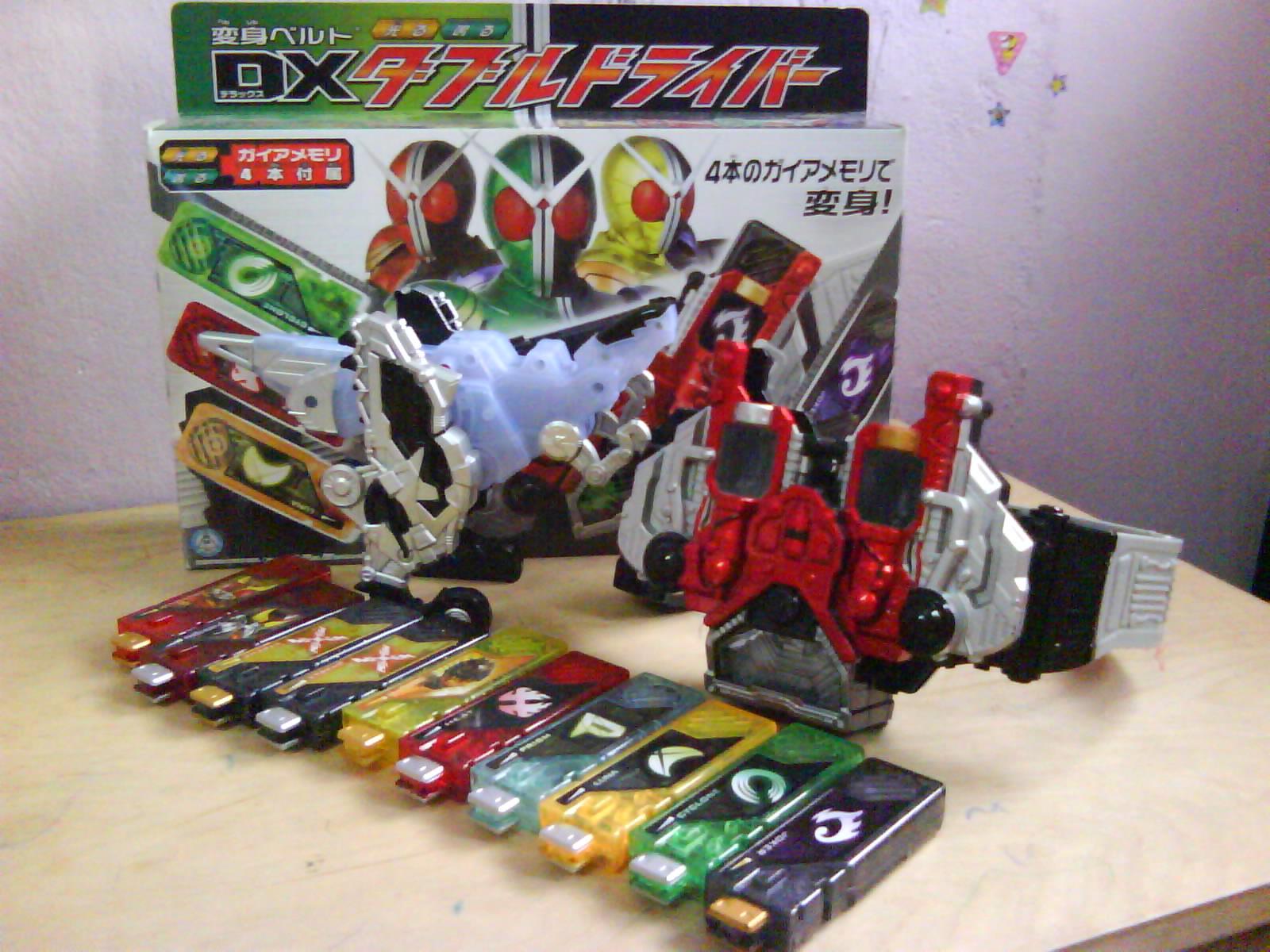Kamen rider w belt fang