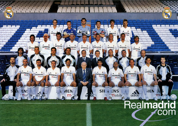 real madrid fc 2011 squad. real madrid 2011 team picture.