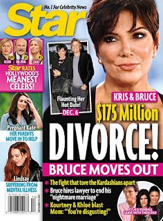 Bruce and Kris Jenner Divorce Magazine