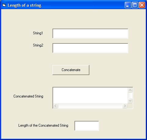 how to get the length of a string in vb