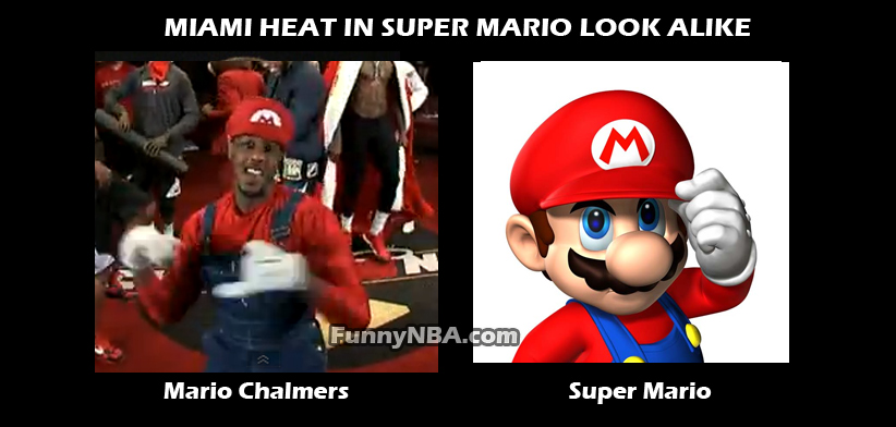 Funny Memes Mario : Super mario bros vs miami heat nba funny moments