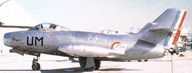 Dassault MD 450B Ouragan UM