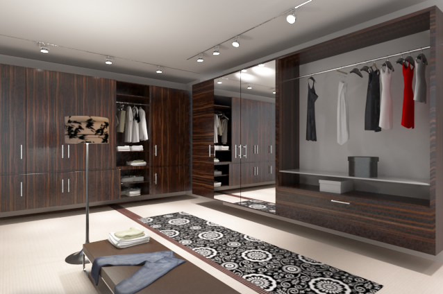 Trends Home Modern: Desain Interior - Walk In Closet Minimalist ...
