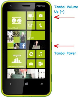 Cara Screenshot di HP Windows Phone 8.1