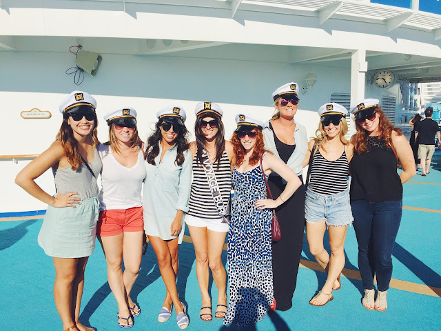 bachelorette cruise, nautical party, what to bring on a cruise