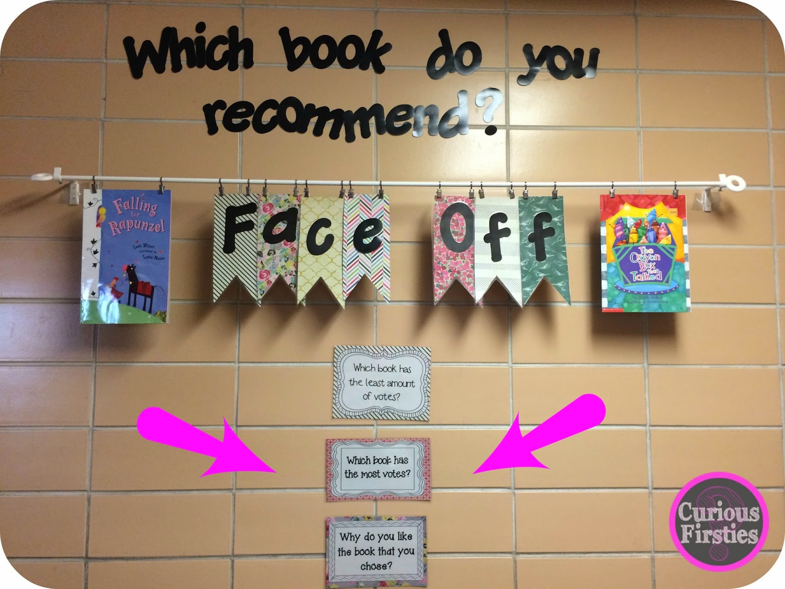 engage students by asking them to recommend books to others