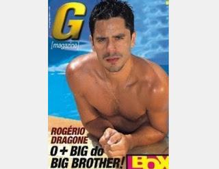 Para completar o time de ex-BBBs, a revista ainda conseguiu um ensaio com o coveiro Rogério Dragone.