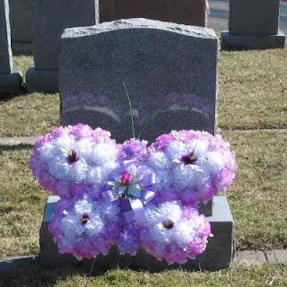 Buy a Lavender Silk Flower Butterfly