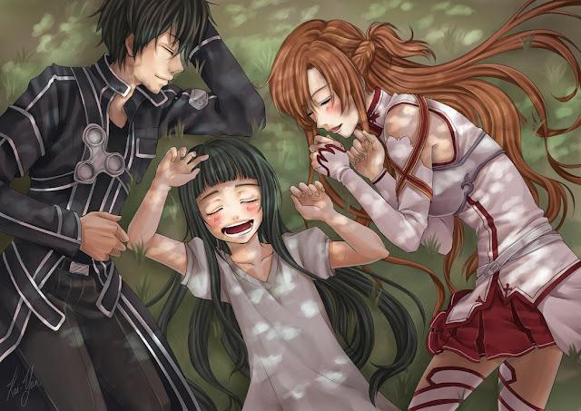 Asuna Kirito Sword Art Online Wallpaper 0018