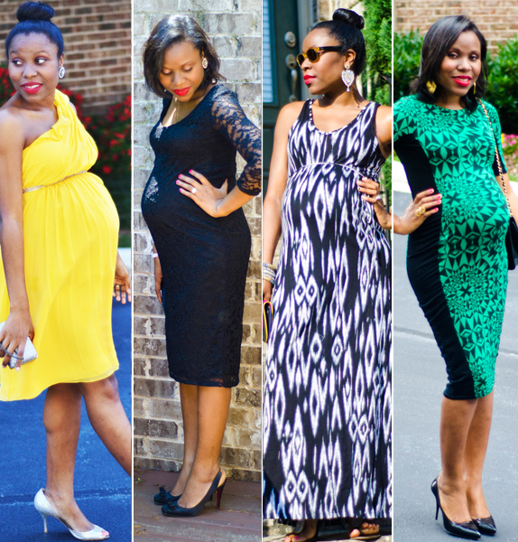 Nigerian Maternity Dress Style Gown Wears Cloth For Pregnant Women