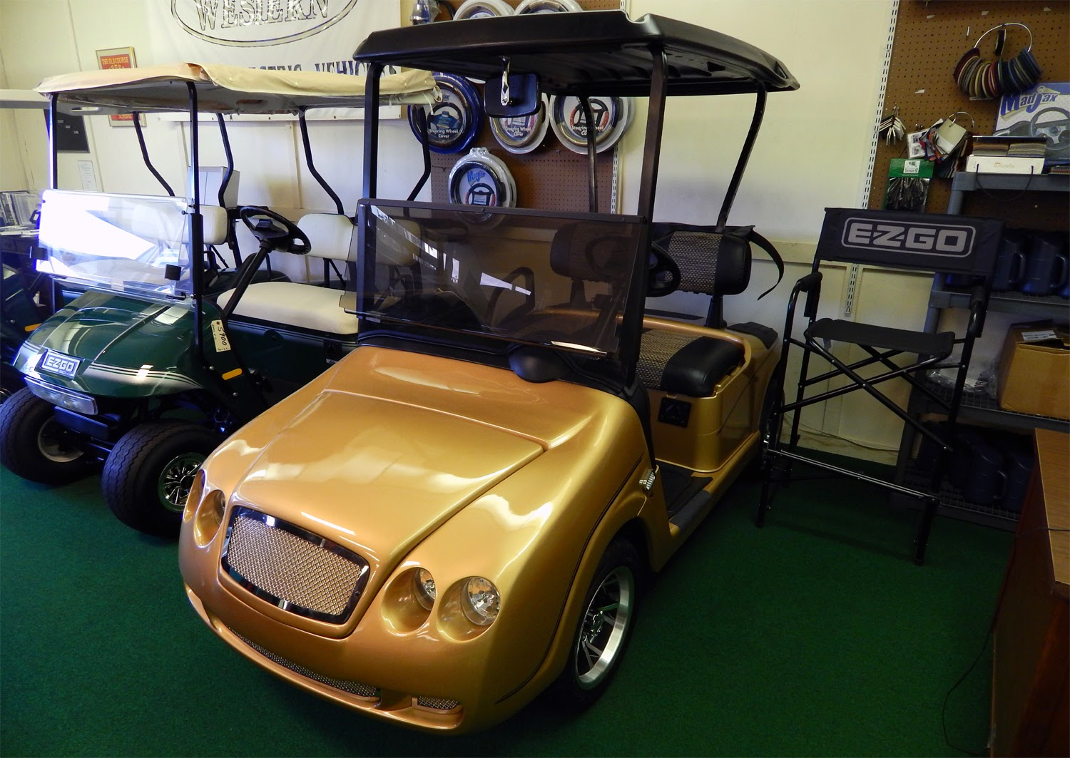 sale cart at town carts golf fun kissimmee old watch villages and cool bentley man for