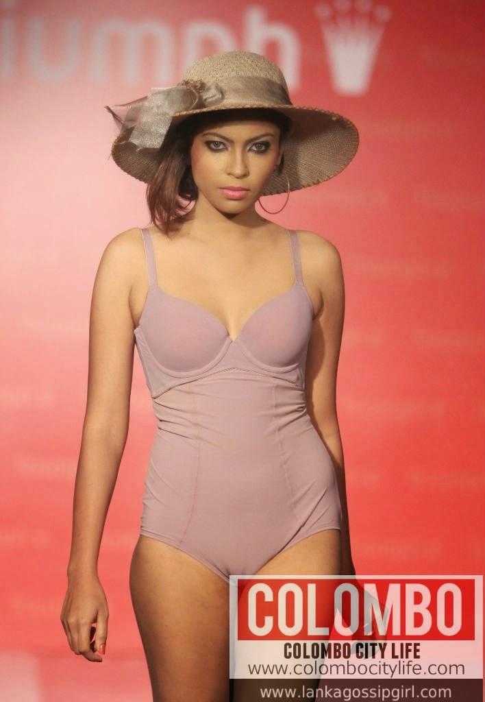 Sri Lankan bra models Triumph fashion show - Lankan Stuffs