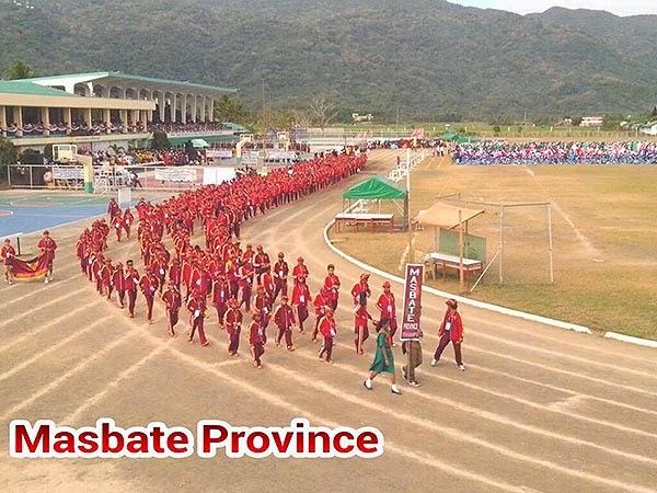Palarong Bicol 2014 Masbate Province Delegation
