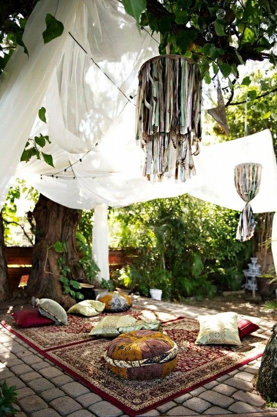La Fabrique A Deco Sept Idees Bohemes Pour Le Jardin La Terrasse