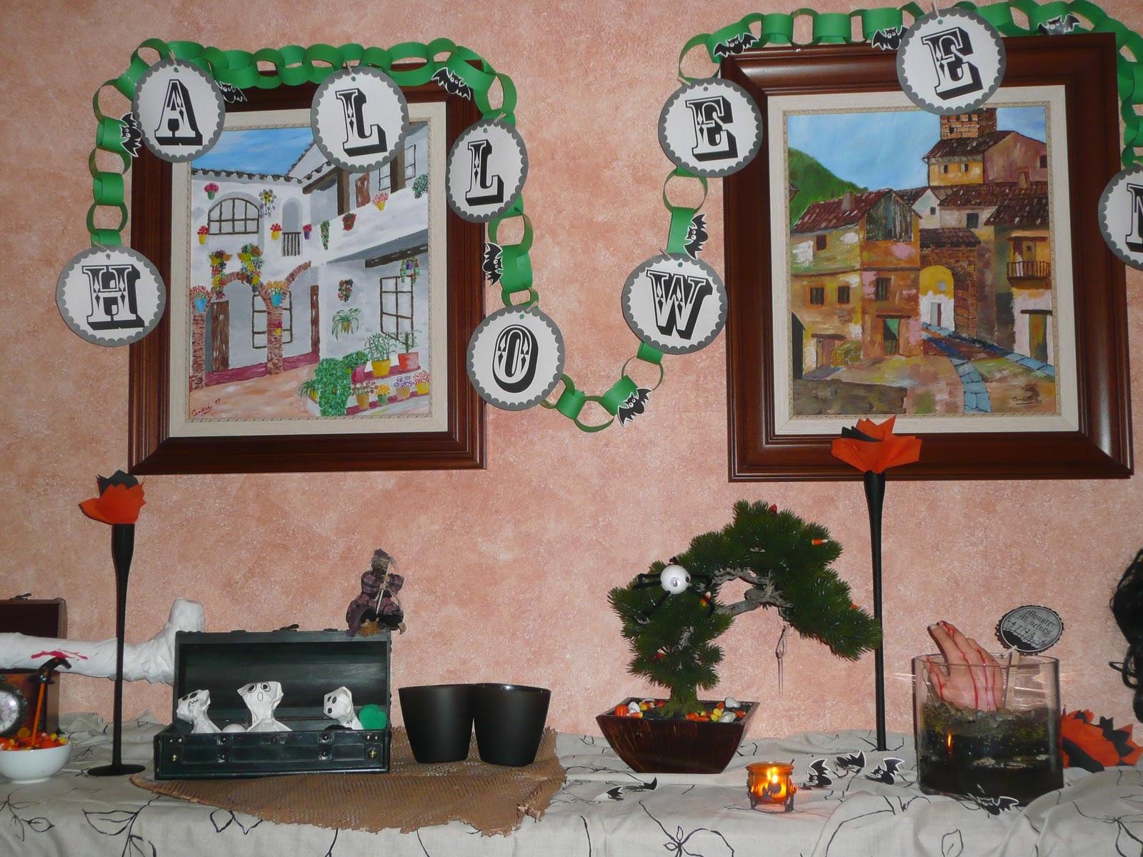 La datilera decoraci n barata halloween for Decoracion barata
