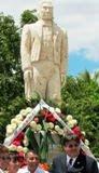 "INAUGURAN MONUMENTO A ""JUÁREZ"" EN CALKINÍ. 23MAR2011."