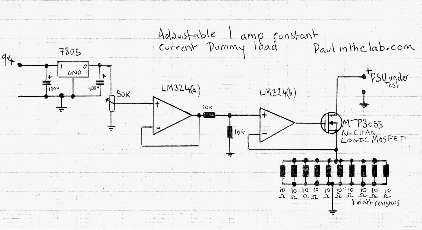 Circuit Load Circuitlab Mosfetled Constant Current Too Sensitive Page 1600x873