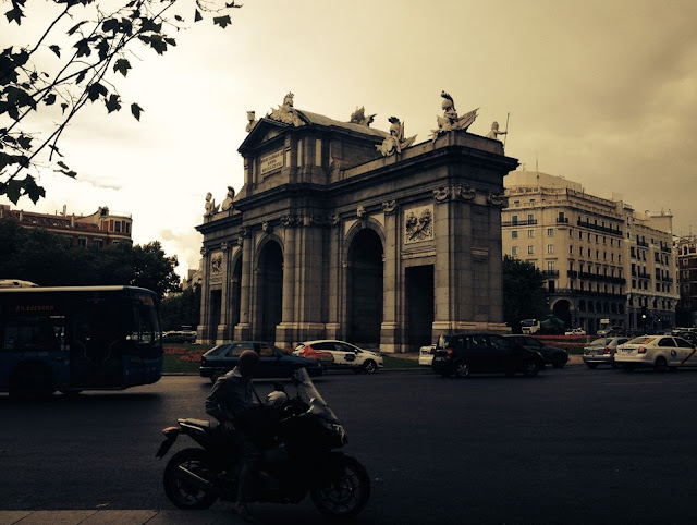 Arc de Triomphe, Madrid, Spain, Rachel Medanic