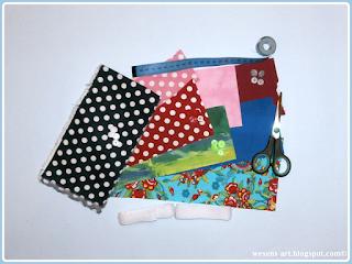 FabricBracelets wesens-art.blogspot.com